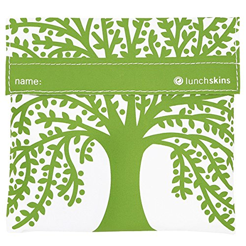 Lunchskins Reusable Velcro Sandwich Green product image
