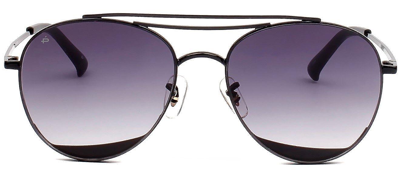"d25b0fc3fe8 Amazon.com  PRIVÉ REVAUX ICON Collection ""The DaveO"" Designer Round  Sunglasses  Clothing"