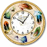 Cheap Item C2017 Vintage Style 10.5 Inch Bird Feathers Clock