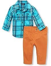 87edf545ca5f The Children s Place Boys  Baby Plaid ...