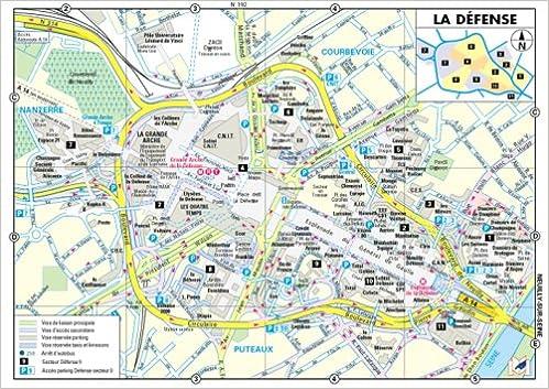 Lire Plan de ville : La Défense (plan plastifié) pdf, epub