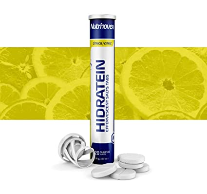 Bebida isotónica Hidratein Effervescent Salts Tabs, Sabor ...