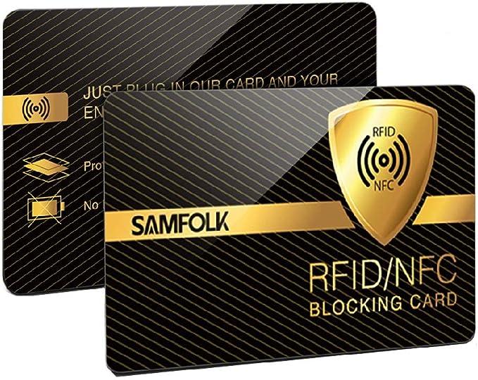 20 opinioni per Protezione RFID,2 Pezzi--Protezione RFID/NFC Per Carte Di Credito Contactless,
