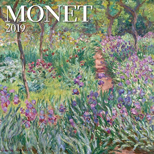 2020 Christmas Paintings - Monet Mini Wall Calendar 2019 Monthly January-December 7
