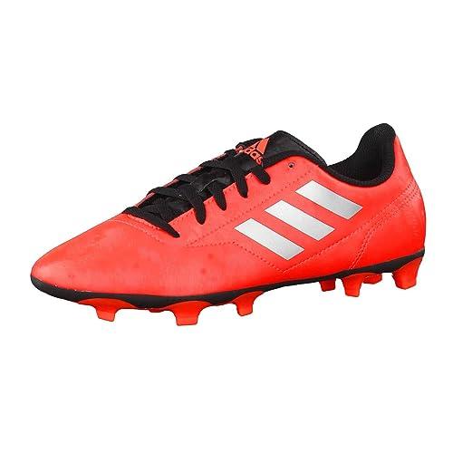 adidas - Botas de fútbol de Piel para niño Arancione Fluo  Amazon.es  Zapatos  y complementos 1e0a764f7e5f5