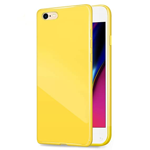 3ce382b4bce Amazon.com: iPhone 6/6S (4.7 inch) Jelly Case, ANLEY [Candy Fusion ...