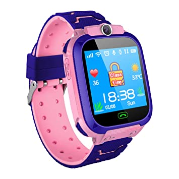 Amazon.com: Jiecikou 2019 Kids Smartwatch Touch Screen GPS ...