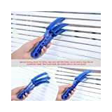 Amazing 2pc Microfiber Venetian Blind Brush Shutter Window Air Conditioner Dust Dirt Cleaner