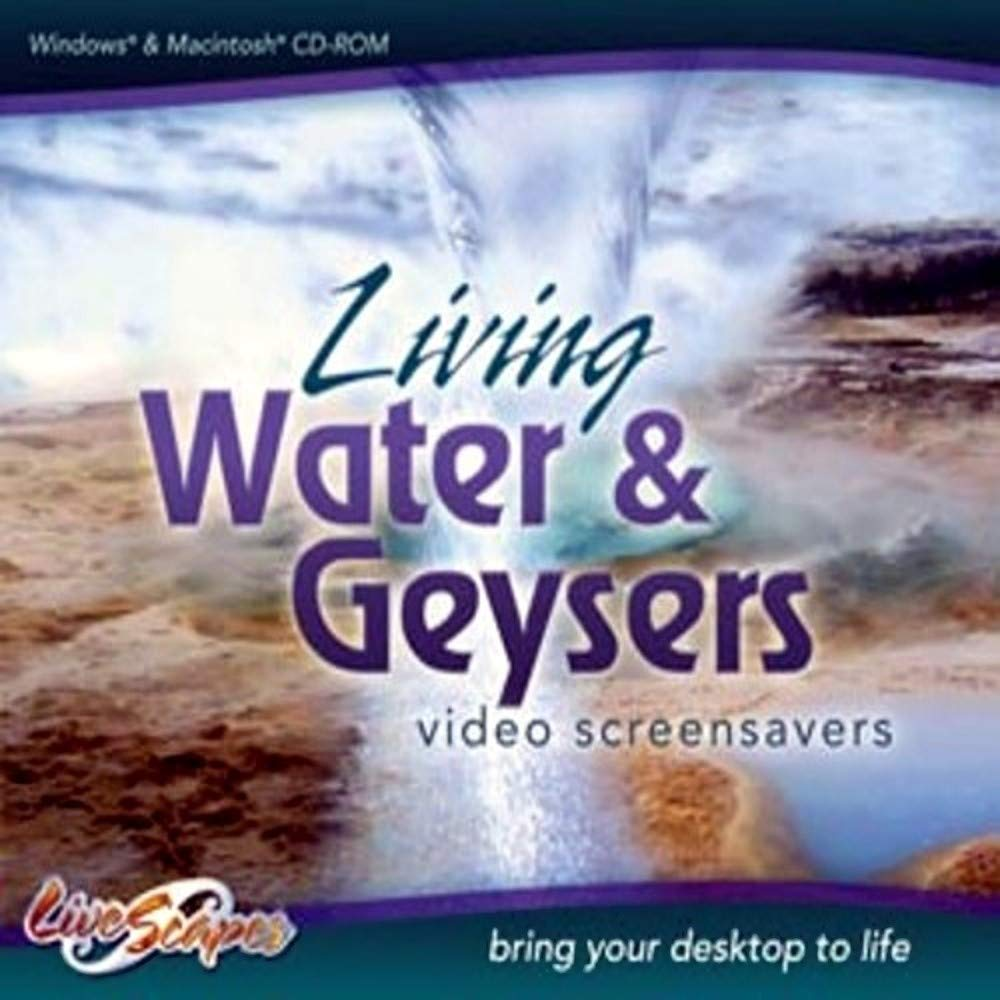 Living Water & Geysers Video Screensavers by LivesScapes