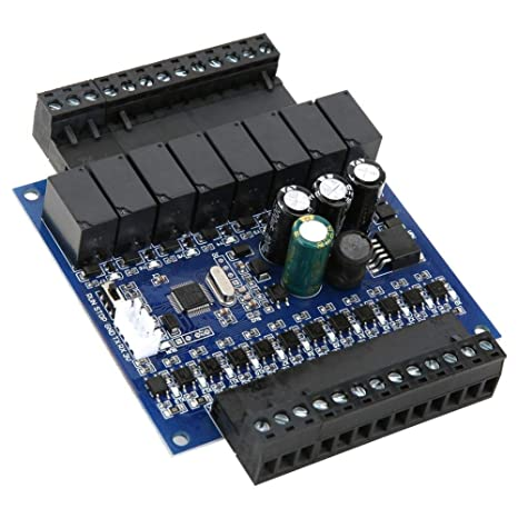 for Mitsubishi FX2N-20MR Series Programmable Controller 32-bit CPU PLC Industrial Control Board Board+Shell Programmable Control Board