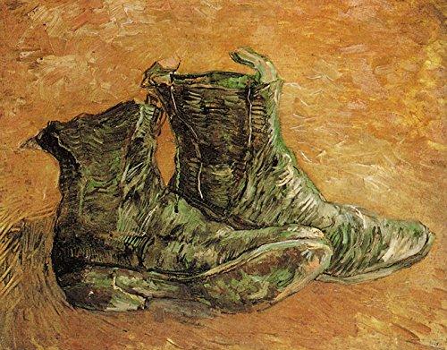 (Vincent Van Gogh - A Pair of Shoes Van Gogh Museum 30
