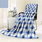 Digital Printing Blanket and Whiteual Cultural Design Arabian White Apricot Summer Quilt Comforter
