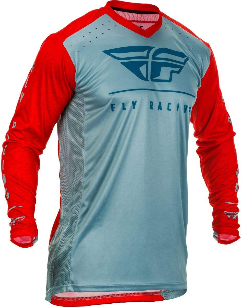 Large Black//White Fly Racing 2020 Lite Hydrogen Jersey