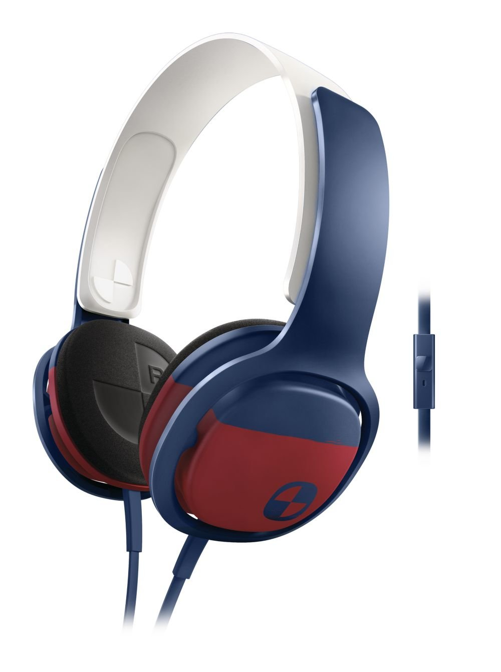 Auriculares Philips SHO3305BOARD/28 O'Neill Cruz Headband Blue/Red