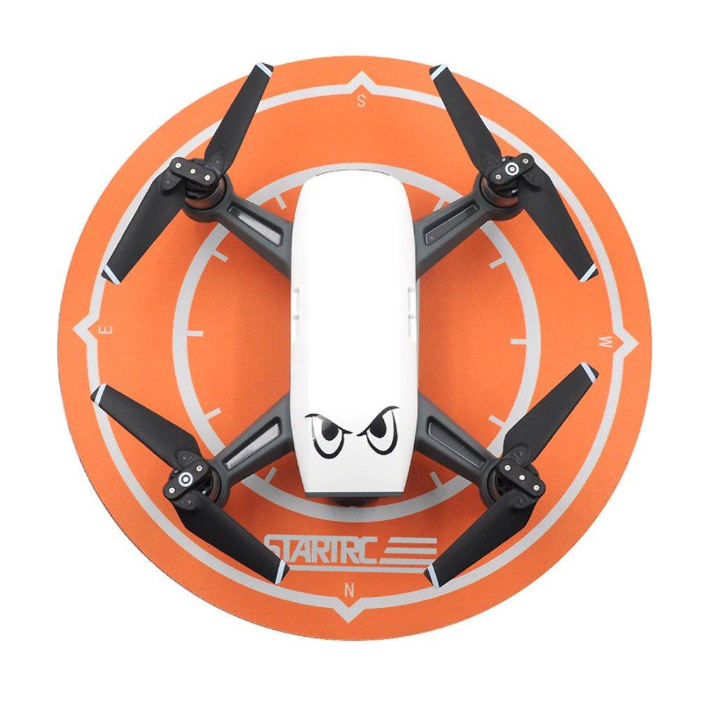 Helipad 着陸パッド 折りたたみ式 DJI Spark DJI Mavic Pro ドローン RC クアッドコプター用 As Show ブラック DICPOLIA-helicopter. B07MR9L6C2  オレンジ
