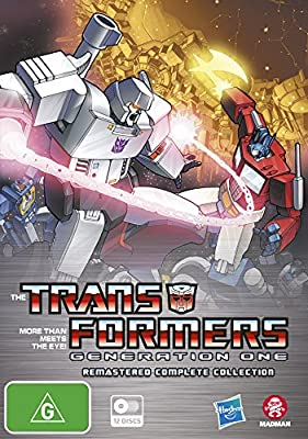 Transformers Generation One Remastered Complete Collection | 12 Discs | NON-USA Format | PAL | Region 4 Import - Australia