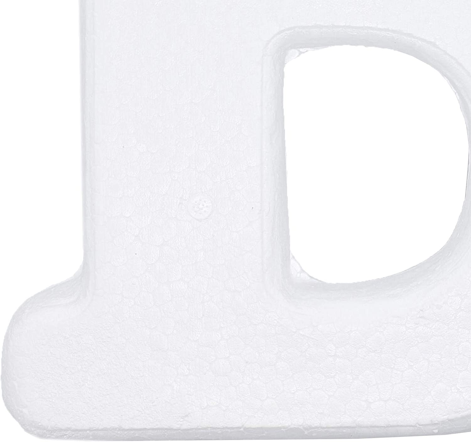 White 12 Inches Bright Creations Large Foam Number 0 for DIY Crafts