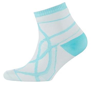 Seal Skinz 1121501144_1144 FR - Calcetines Impermeables para Mujer, Color Blanco y Agua, Mujer, Color White/Aqua, Tamaño 35-38: Amazon.es: Deportes y aire ...