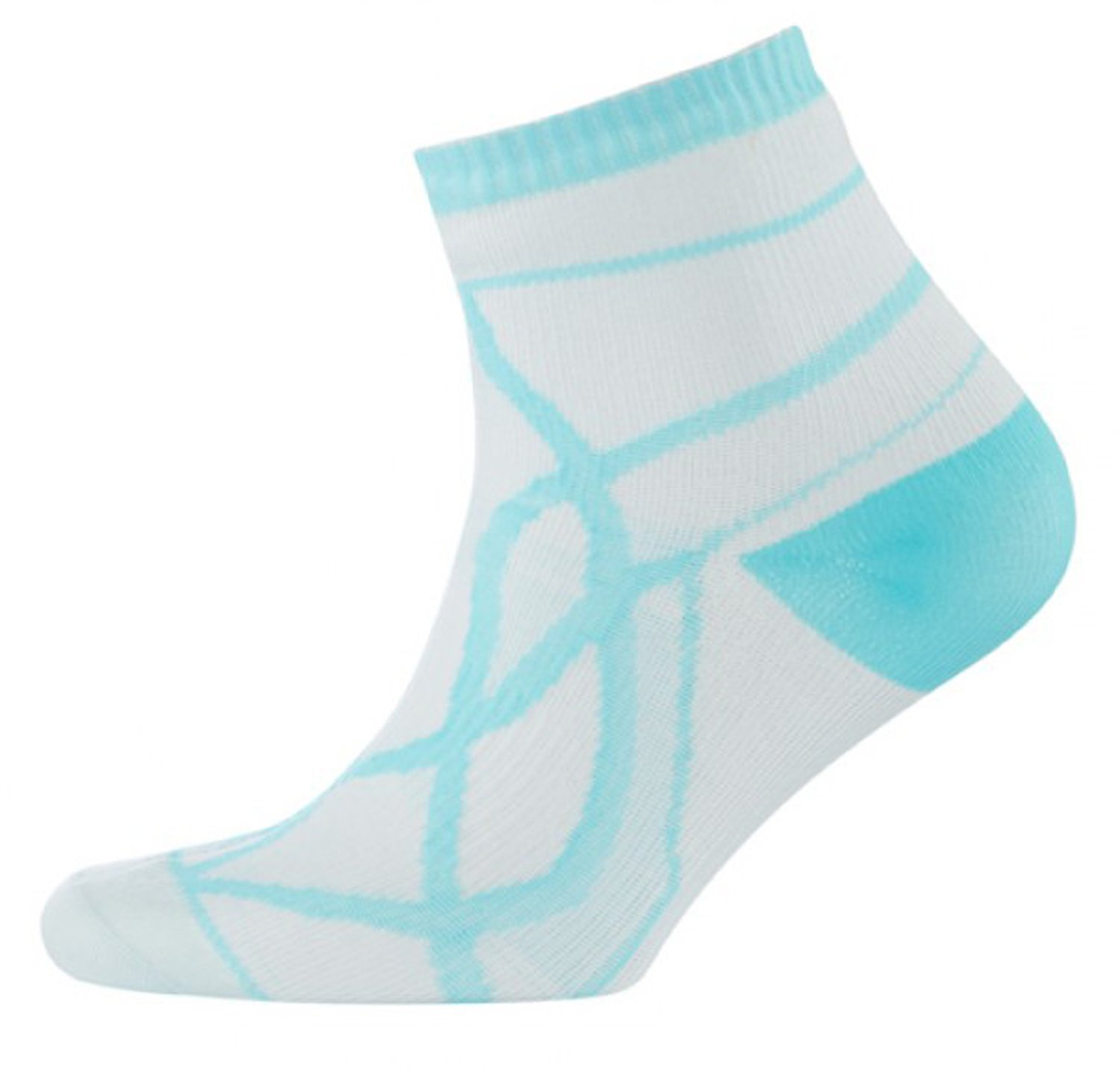 SEALSKINZ Womens Waterproof Thin Socklet-White-Large by SEALSKINZ