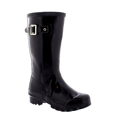 Polar Unisex Kinder Original Plain Wellie Regen Schnee Winter Wasserdicht Schlamm Stiefel