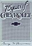 75 Years of Chevrolet (Crestline automotive series)