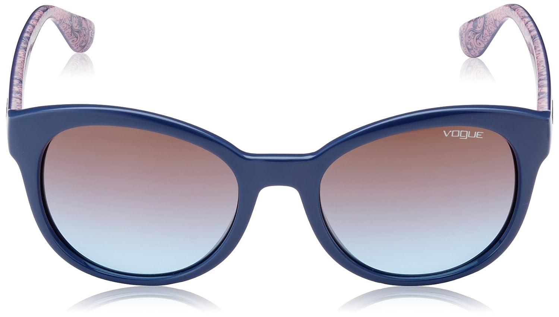 Vogue Unisex Sonnenbrille VO2795S, Gr. One size (Herstellergröße: 53), Blau (Blue 232548)