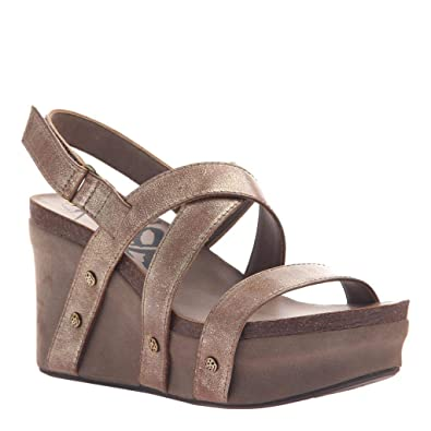 c8365ff5c77 OTBT Women s Sail Wedge Sandals - Gold - 6