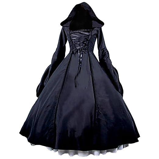 Amazon Partiss Womens Gothic Victorian Poplin Long Sleeve