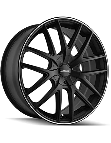 shop amazon car 1956 Ford Hubcaps touren tr60 16 black wheel rim 5x100 5x4 5 with a 42mm offset