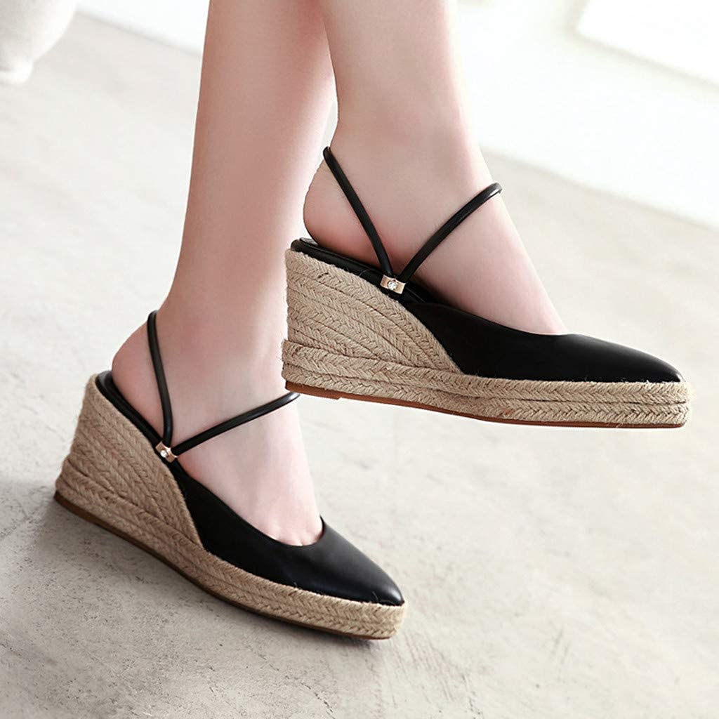 Casual Arch Support Wedge Platform Sandals