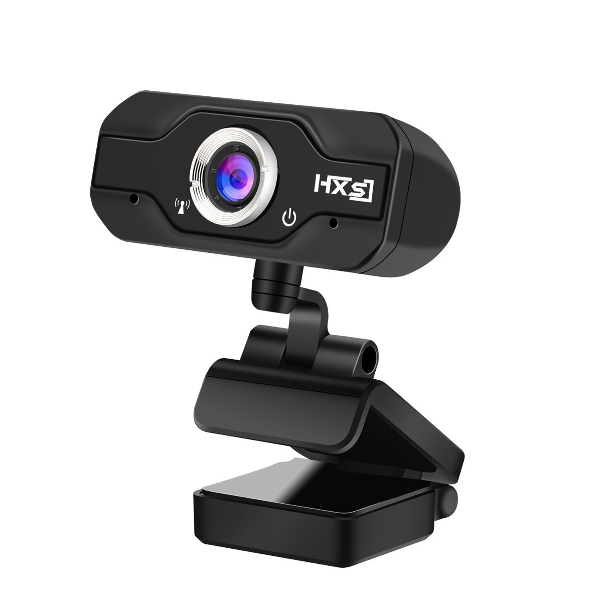 720P HD Webcam, InTeching USB Widescreen Computer Camera with Microphone for Windows XP/Vista/7/8/8.1/10 PC, Desktop or Laptop (Livestream/Skype Cam)