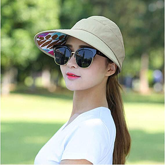 LOPILY Sombreros Summer Women Outing Duck-Tongue Hat Gorra de Sol ...