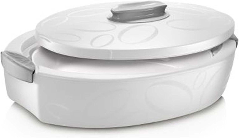 in acciaio inox impilabile HelloCreate contenitore termico per il pranzo a 3 strati a prova di perdite contenitore per il pranzo