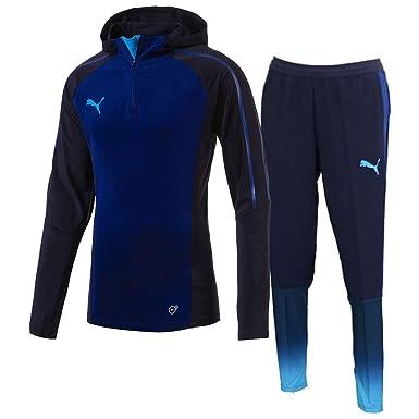Activewear Men's Clothing Blue Fine Puma Evotrg Mens Running Jacket