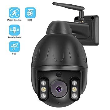 Cámara de vigilancia HD 1080P, Alarma Inteligente, Audio de ...