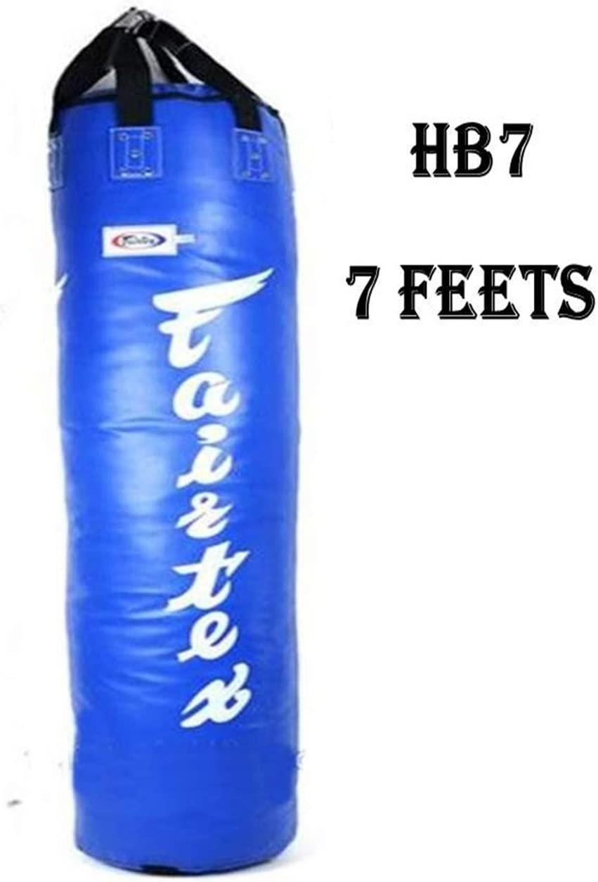 UN-FILLED Fairtex Black 7ft Muay Thai Boxing Pole Punch Bag