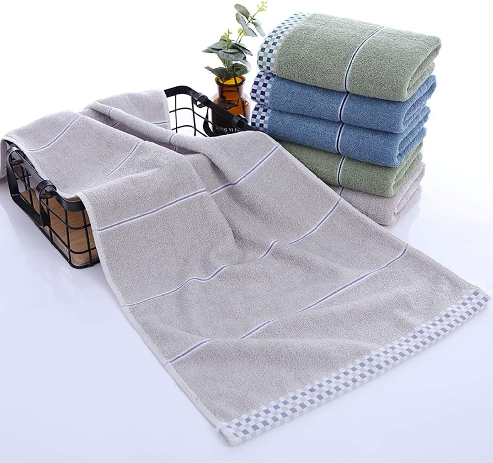 3 Pack,14 X 29 Super Soft Highly Absorbent Hand Towel for Everyday Use 100/% Cotton Face Towels Camping Gym LayYun Bathroom Hand Towels Sets Home