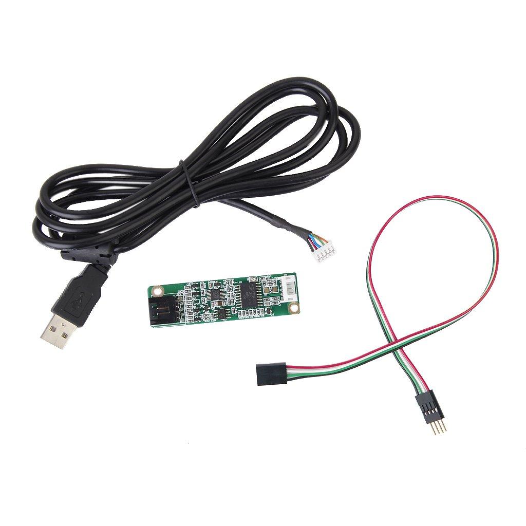 4 Drähte Touch Screen Panel USB LCD Controller Kit: Amazon.de ...