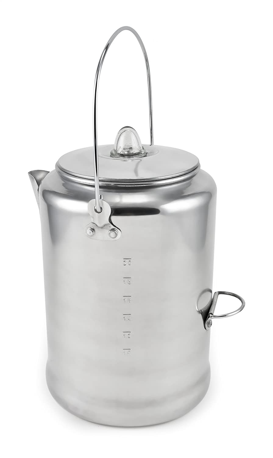 Chinook Canyon 20 Cup Aluminum Coffee Percolator