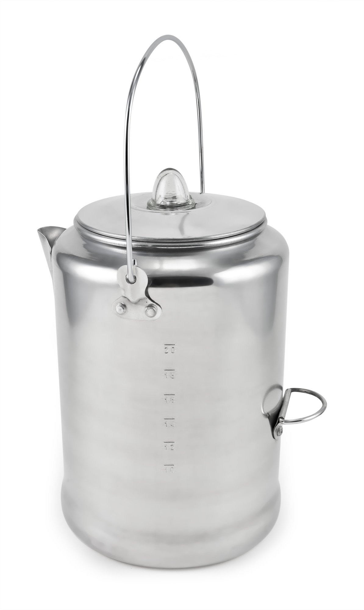 Chinook Canyon 20 Cup Aluminum Coffee Percolator by Chinook