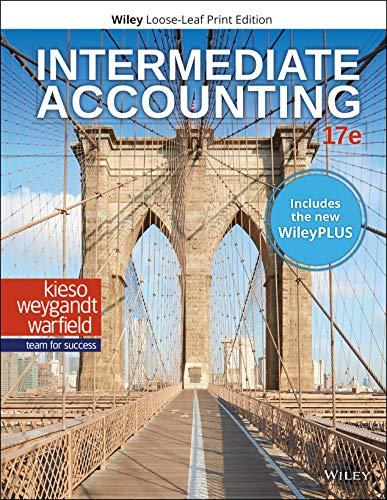 Intermediate Accounting, 17e WileyPLUS NextGen Card with Loose-Leaf Print Companion Set