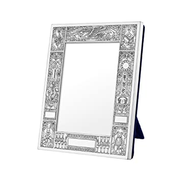 Amazoncom Betteridge Collection Silver Birth Record Frame 35 X