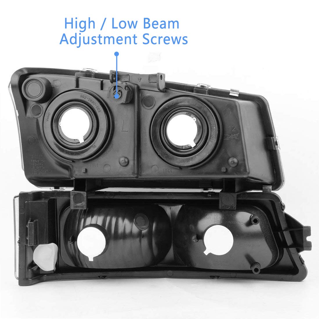 Headlight Assembly kit for 2003-2006 Chevy Avalanche