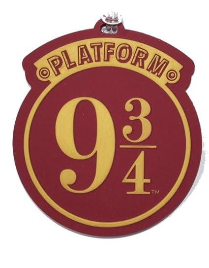 Harry Potter 9 3//4 PU Luggage Tag
