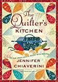 Front cover for the book The Quilter's Kitchen by Jennifer Chiaverini
