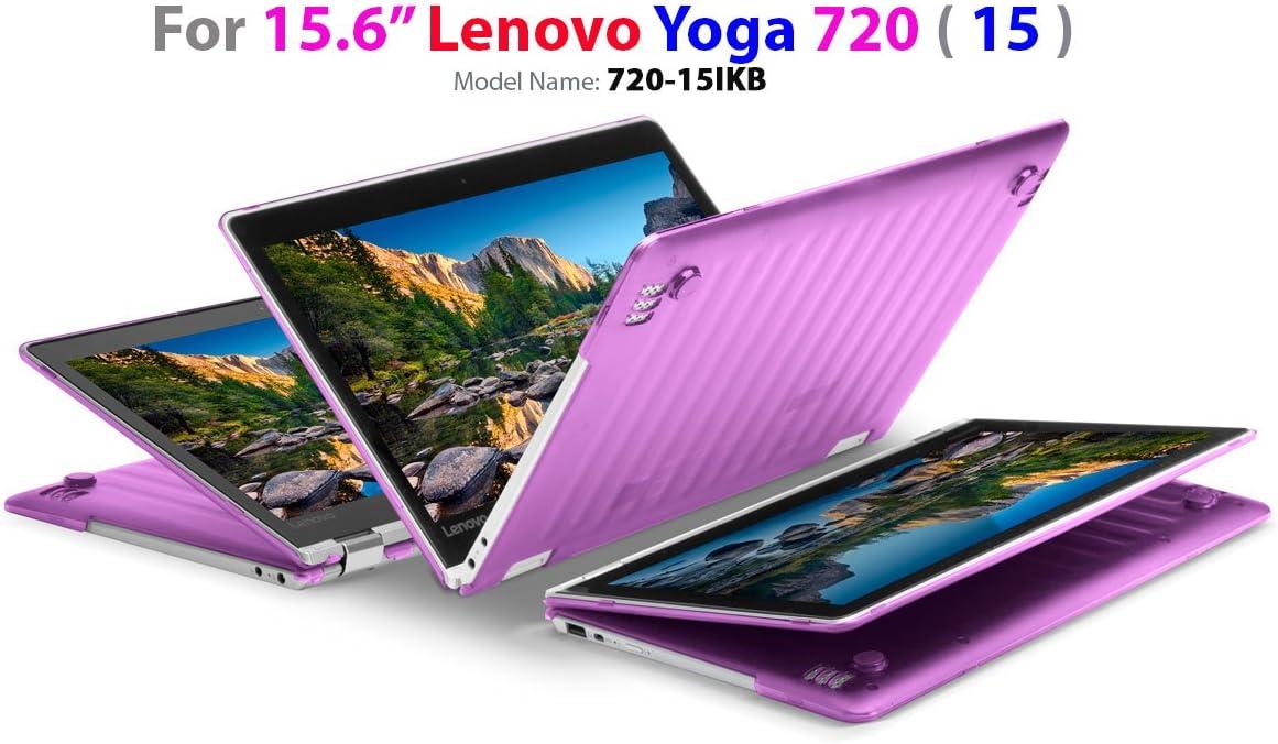 "mCover Hard Shell Case for 15.6"" Lenovo Yoga 720 (15) Laptop (Purple)"