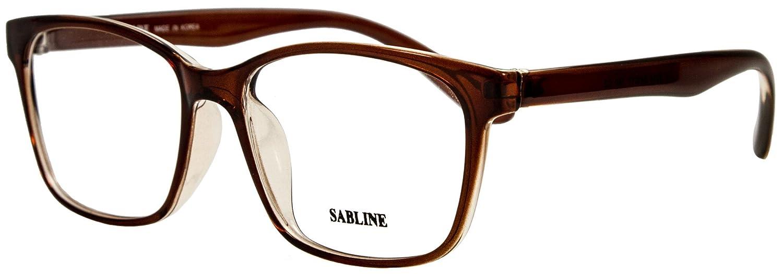 89707bb7023 Amazon.com  Prescription Glasses Sabline 9314 Eyeglasses for Women and Men  (54-17-140mm