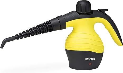 H.Koenig NV60 Limpiador A Vapor Compacto, Vaporeta 1000W, 4,2 ...