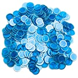 Pack of 300 Metal Inserted Bingo Chips - Choose From 4 Colors!
