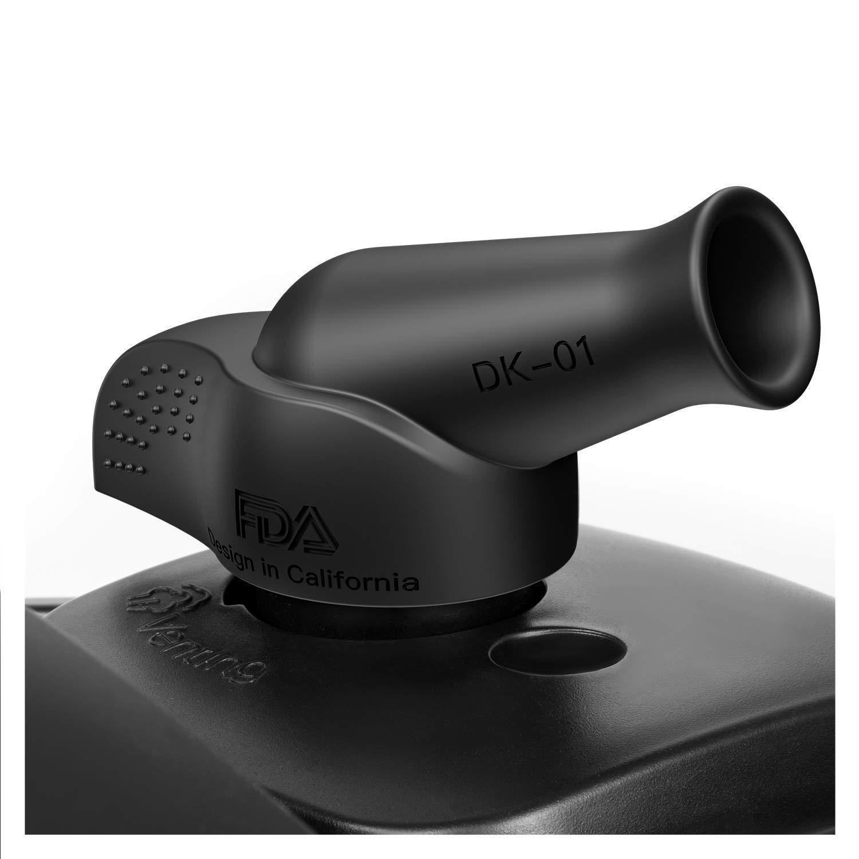 Schwarz henmi Instant Pot Zubeh/ör Instant Pot Dampf Umsteller Savior Dampf Druck Release Zubeh/ör f/ür IP Instant Pot For duo60 Modelle nur